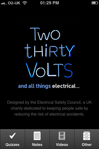Twothirtyvolts Phone App Screenshot 1